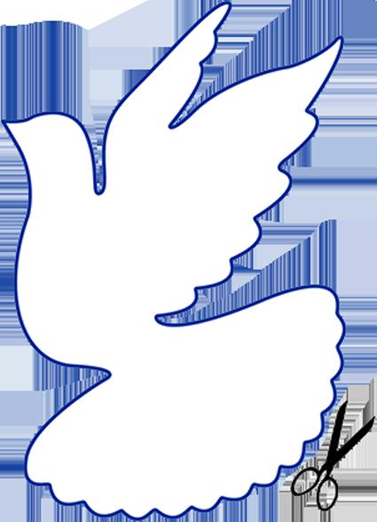 Картинки голубь из бумаги своими руками шаблоны